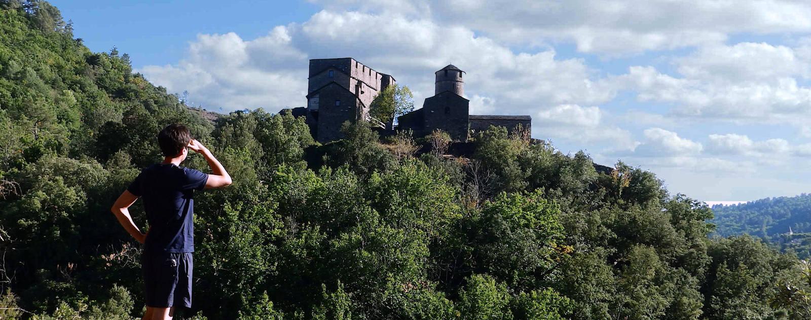 Chateau de St Pierre à St Germain de Calberte