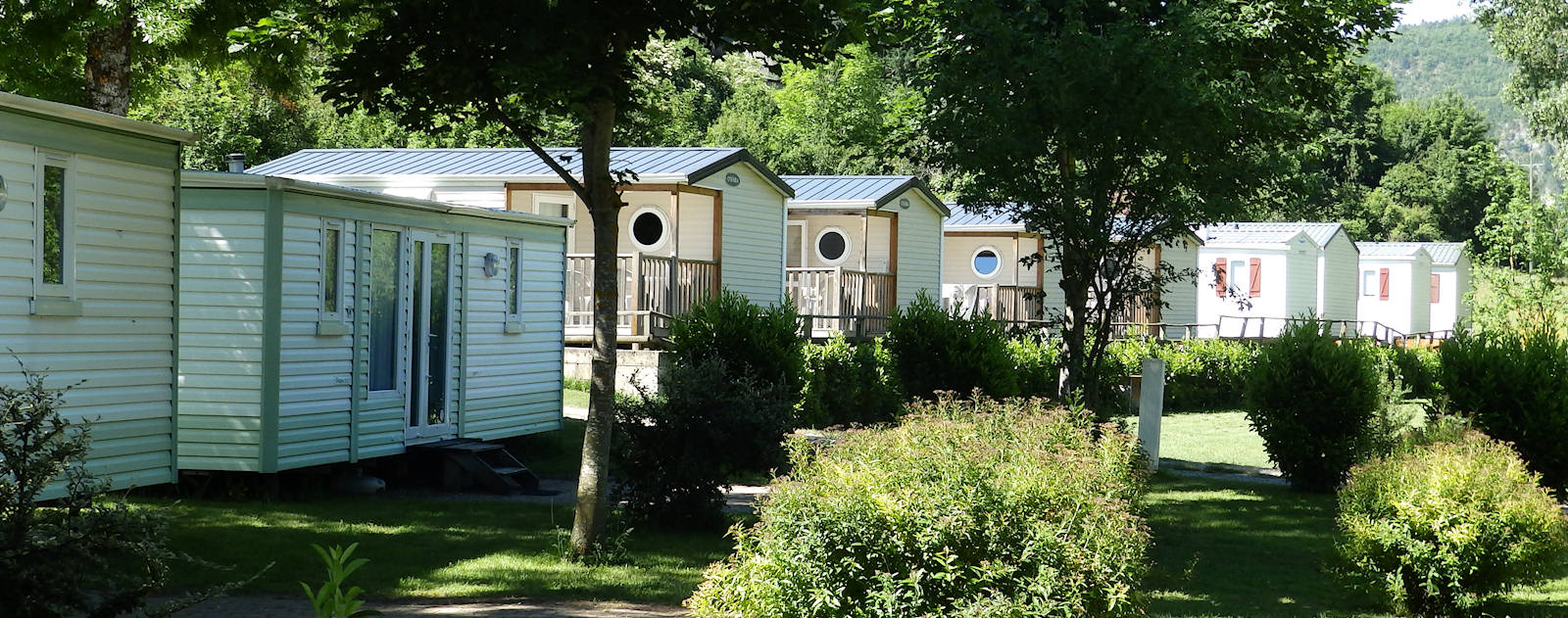 location mobilhome lozere